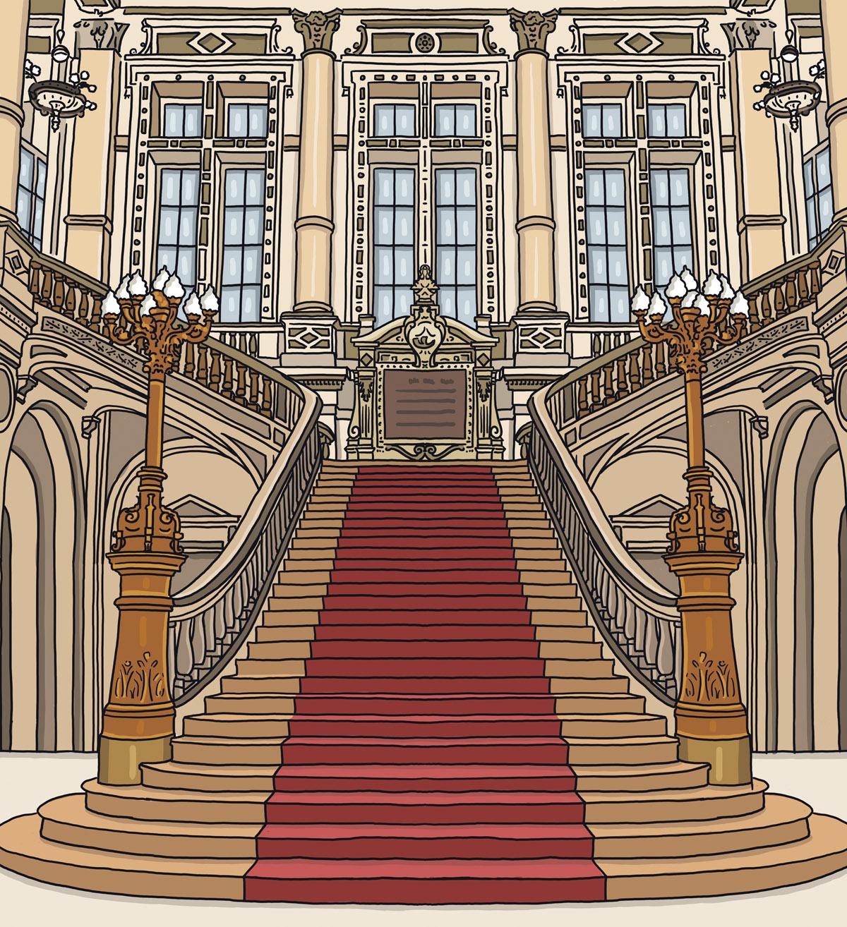 paris-mairie-10eme-arrondissement-rue-du-faubourg-saint-martin-illustration-escalier