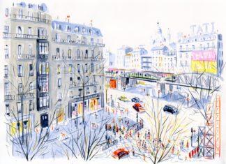 dominique-corbasson-illustratrice-metro-barbes-paris