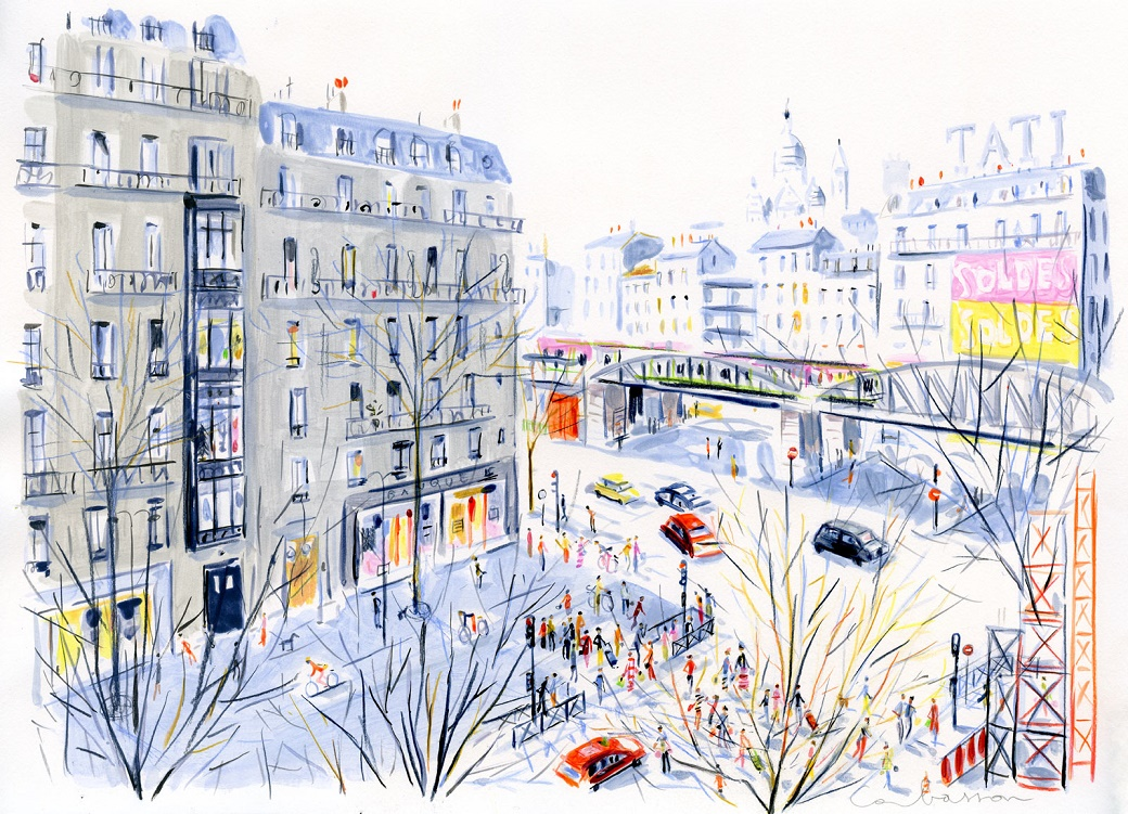 dominique-corbasson-illustratrice-metro-barbes-paris