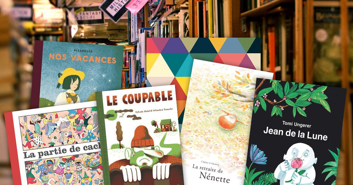"""70c6c2bc4101c De retour du Festival du Montreuil """"Salon du Livre et de la Presse Jeunesse"""",  découvrez les coups de cœurs """"livres illustrés"""" de Michel Lagarde."""