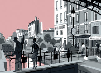 hotel-du-nord-canal-saint-martin-paris-illustration