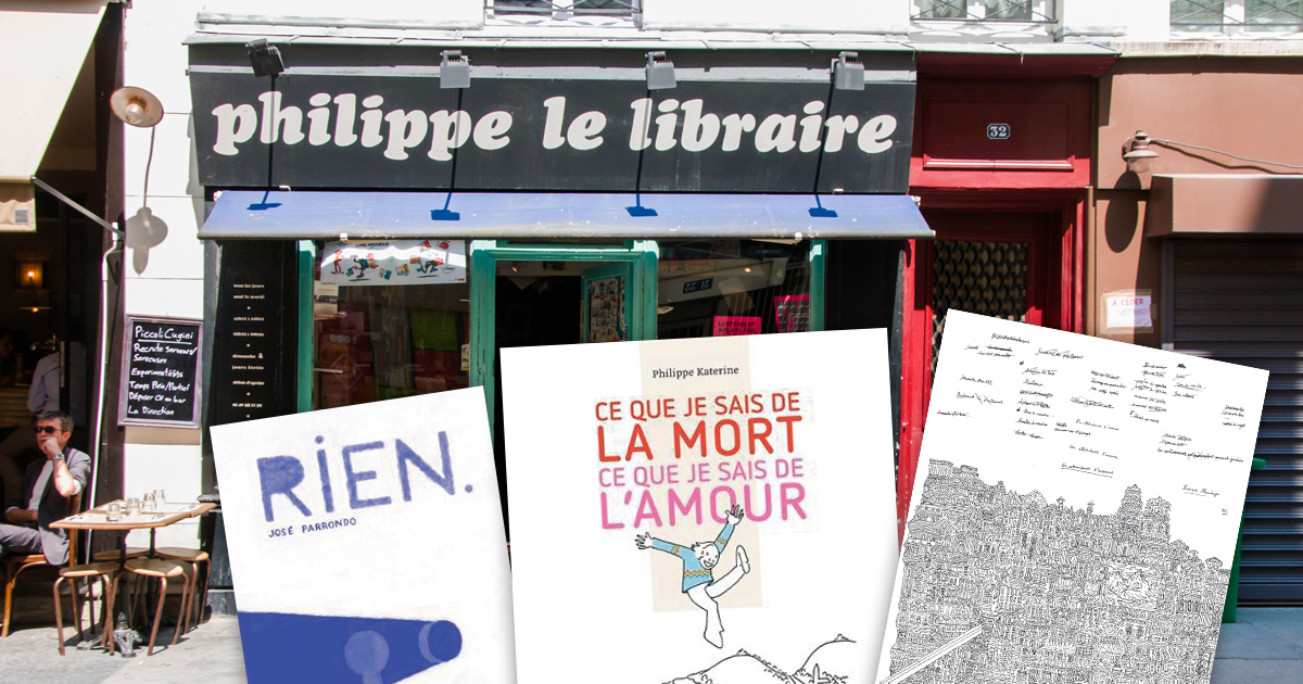 philippe-le-libraire-bandes-dessinees