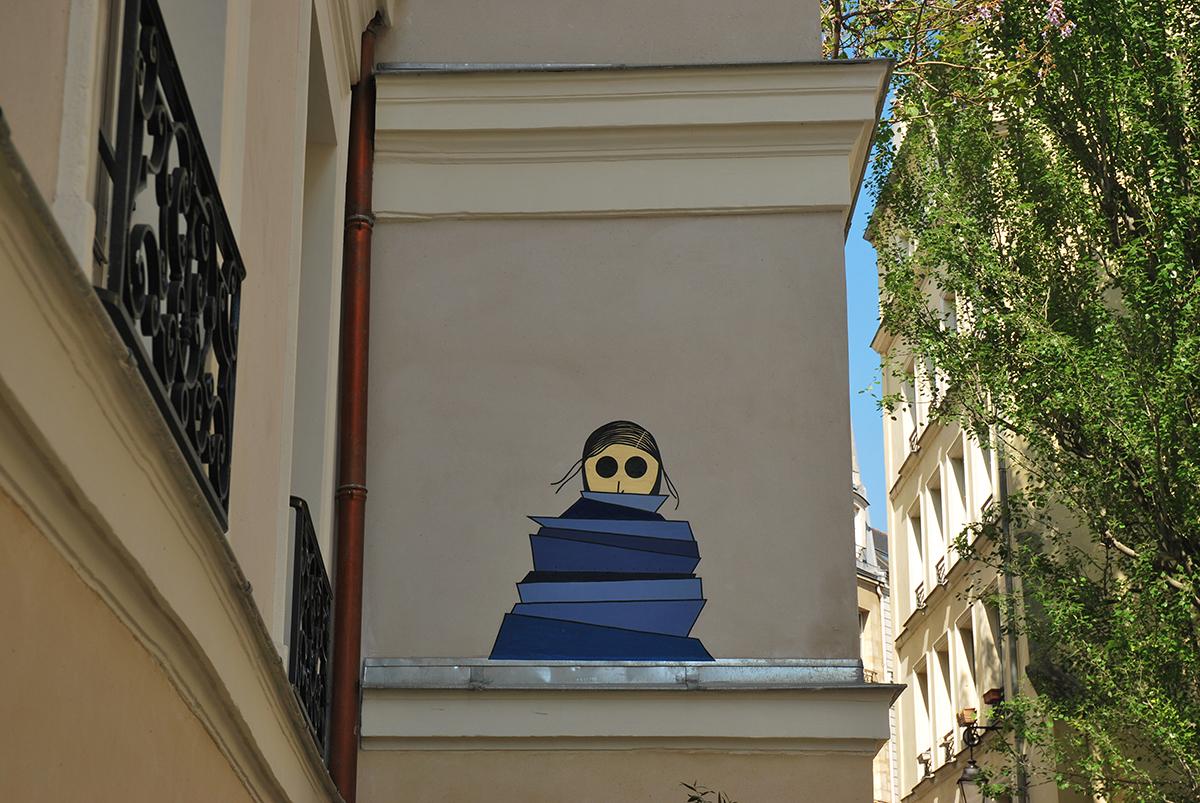 kamlaurene-street-art-paris-personnages-yeux-noirs-accalmie