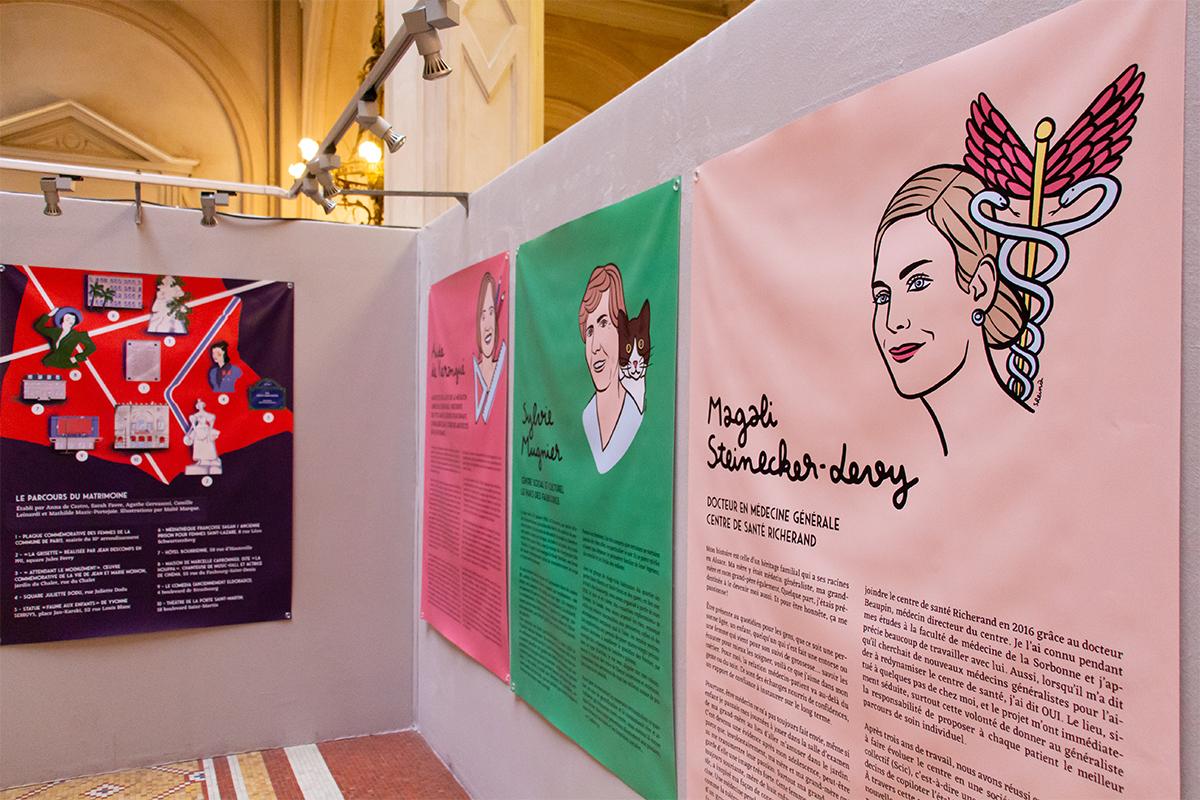 magali-steinecker-levy-centre-de-sante-richerand-docteur-exposition-portrait-femmes-du-10eme-arrondissement-paris